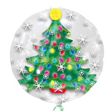 Balão Foil SuperShape Árvore de Natal