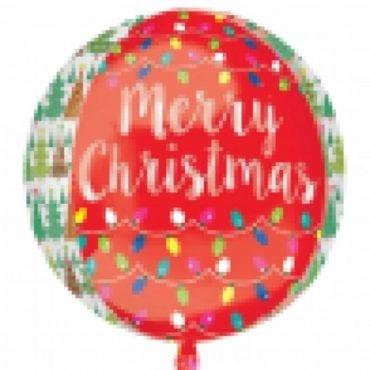 Balão Foil Orbz Natal