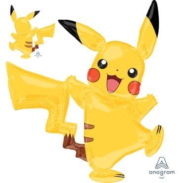 Balão Foil Airwalker Pokémon - Pikachu