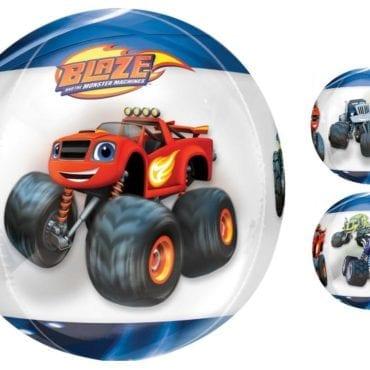 Balão Foil Orbz Blaze