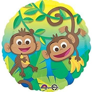 Balão Foil Standard Macaco