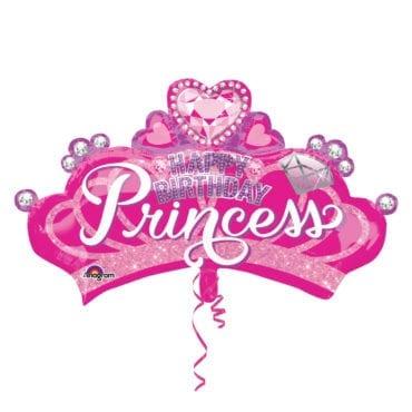 Balão Foil SuperShape Coroa de Princesa