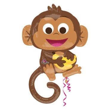 Balão Foil SuperShape Macaco