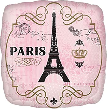 Balão Foil  A Day in Paris