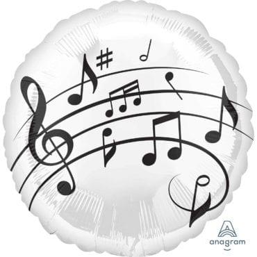 Balão Foil  Música