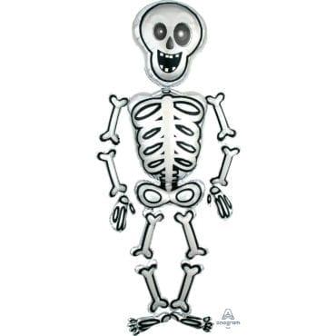 Balão Foil Airwalker Mr Esqueleto