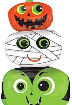 Balão Foil SuperShape  Cabeças Halloween
