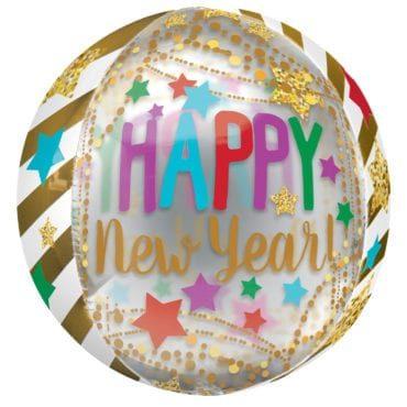 Balão Foil Orbz Ano Novo