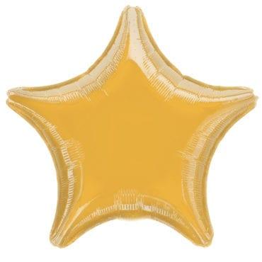 Balão Foil  Estrela Dourada