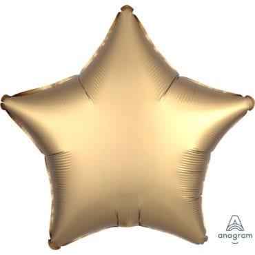 Balão Foil  Mate Estrela Dourado