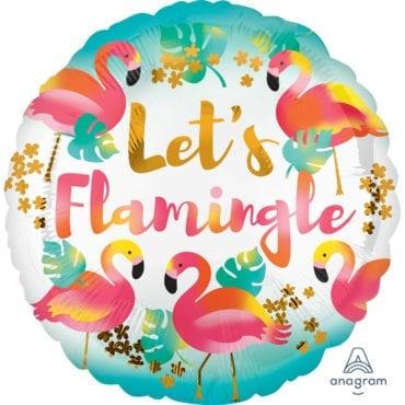 Balão Foil  Flamingo