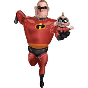 Balão Foil Airwalker Incríveis - Mr Incredible