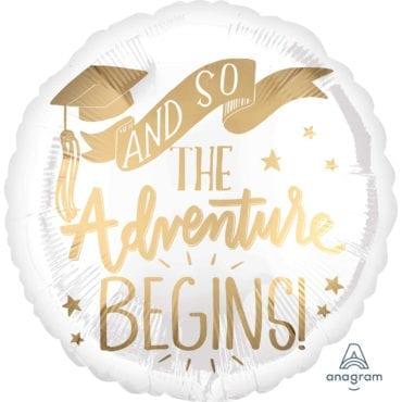 Balão Foil  Graduação - The Adventure Begins