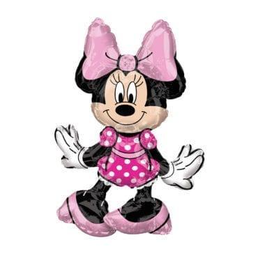 Balão Foil Sitter P50 38x45cm Minnie Mouse