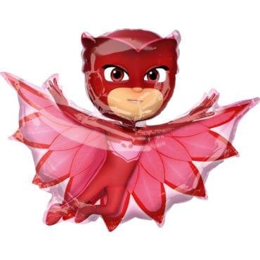 Balão Foil SuperShape  PJ Masks - Owlette
