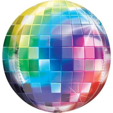 Balão Foil Orbz Bola de Discoteca