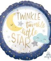 Balão Foil  Twinkle Little Star