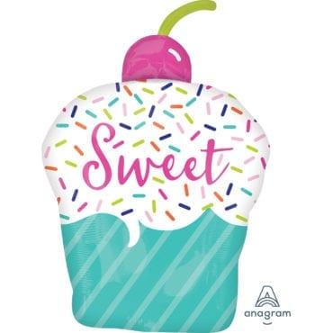 Balão Foil SuperShape  Cupcake