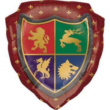 Balão Foil SuperShape  Escudo Medieval (Harry Potter)