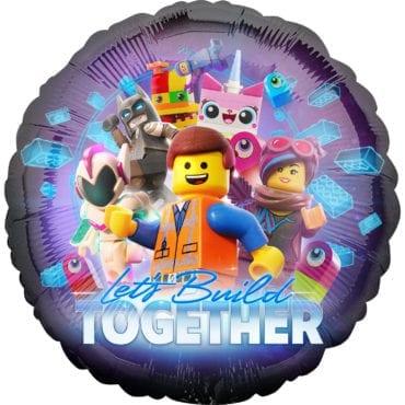 Balão Foil  Lego Movie 2