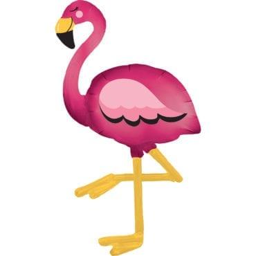 Balão Foil Airwalker Flamingo