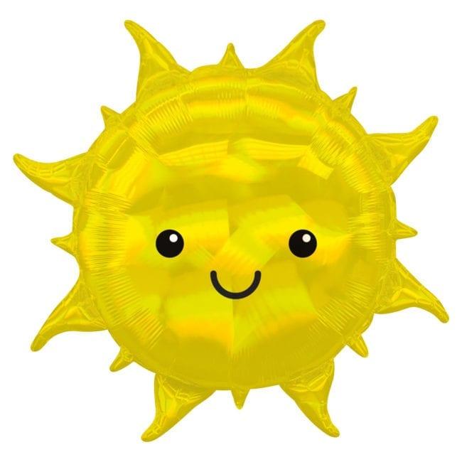 Balão Foil SuperShape Sol Iridescente