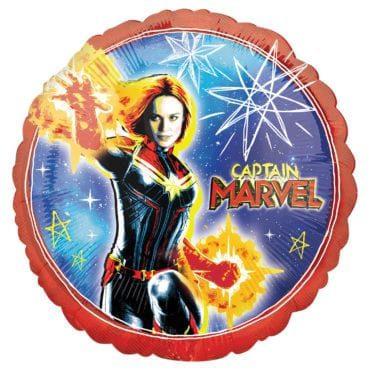 Balão Foil  SuperShape Captain Marvel