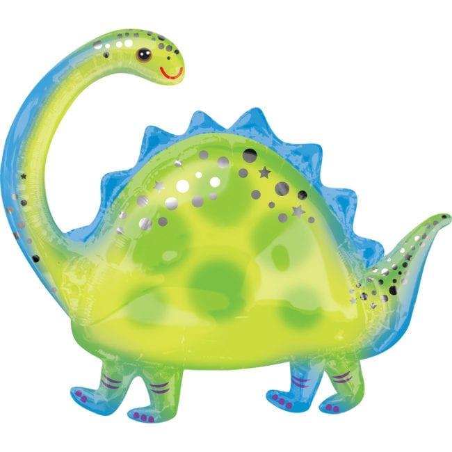 Balão Foil  Supershape Dinossauro - Brontosaurus