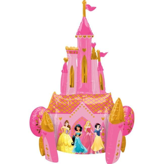 Balão Foil Airwalker Castelo Princesas Disney