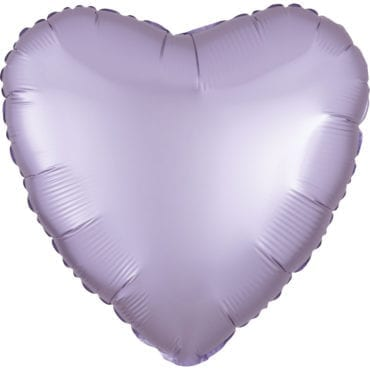 Balão Foil  Mate Coração Lilás