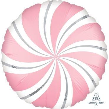 Balão Foil  Mate Candy Rosa Claro