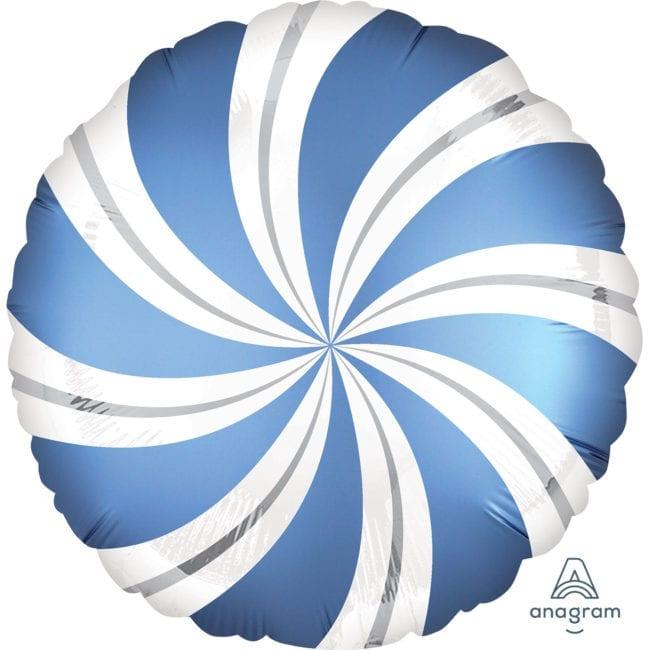 Balão Foil  Mate Candy Azul Royal