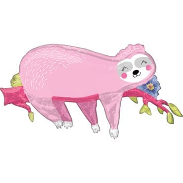 Balão Foil SuperShape Animal Preguiça