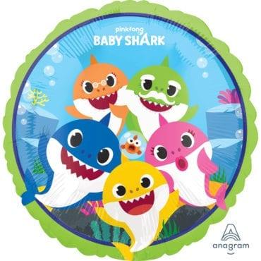 Balão Foil  Baby Shark
