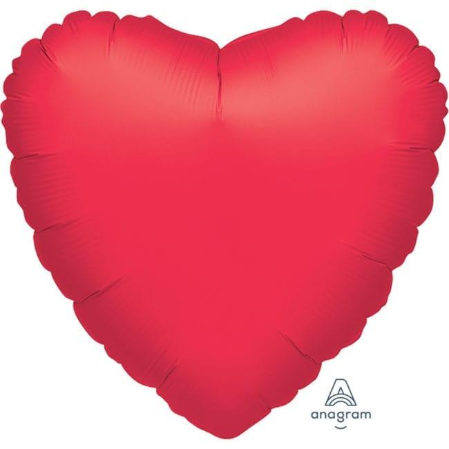Balão Foil SuperShape 81cm Coração Vermelho