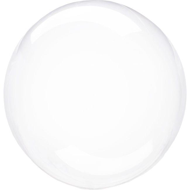 Balão Foil  Cristal Transparente (Bubble)