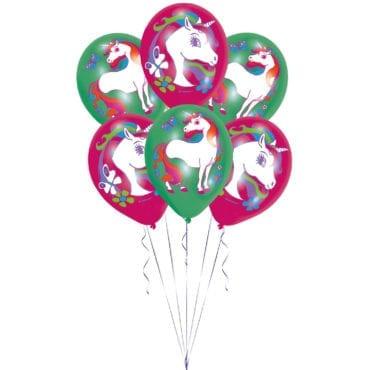 Balões Latex 11'' Unicórnio