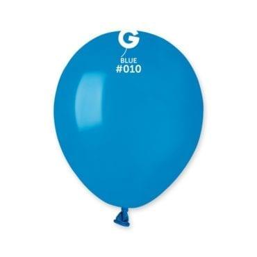 Balões latex 5'' cor Blue # - A5