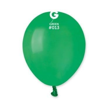 Balões latex 5'' cor Green # 13 - A5