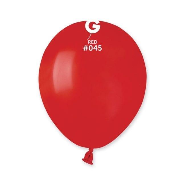 Balões latex 5'' cor Red # 45 - A5