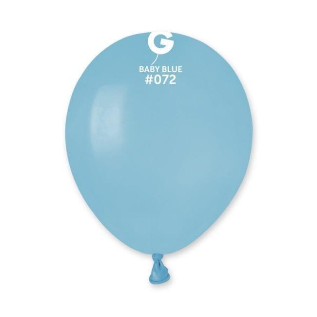 Balões latex 5'' cor Baby Blue # 72 - A5