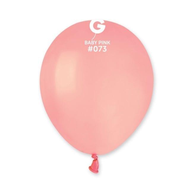 Balões latex 5'' cor Baby Pink # 73 - A5