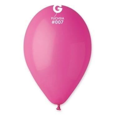 Balões latex 12'' cor Fuchsia # 7 - G1