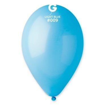 Balões latex 12'' cor Light Blue # 9 - G1