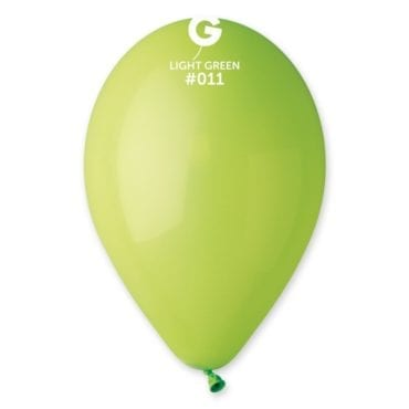 Balões latex 12'' cor Light Green #11 - G1