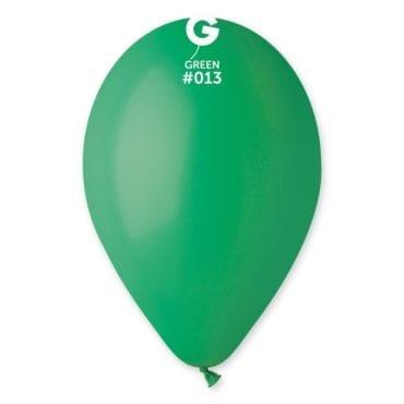 Balões latex 12'' cor Green #13 - G1