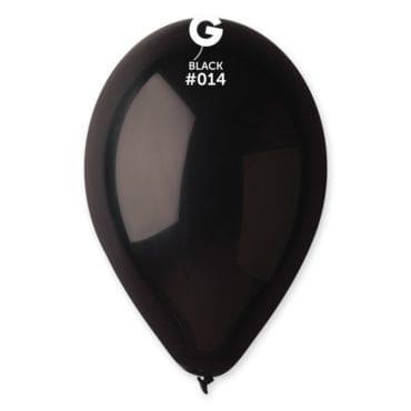 Balões latex 12'' cor Black #14 - G1