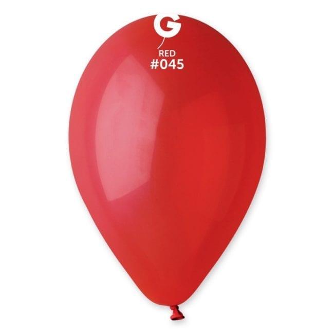 Balões latex 12'' cor Red #45 - G1