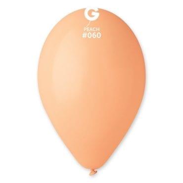 Balões latex 12'' cor Peach #6 - G1