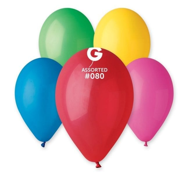 Balões latex 12'' cor Sortido #8 - G1
